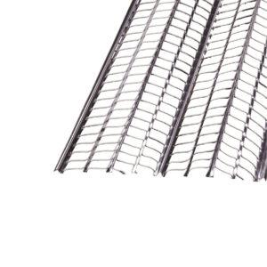 Photo Lattis métallique nervuré NERVEX acier brut